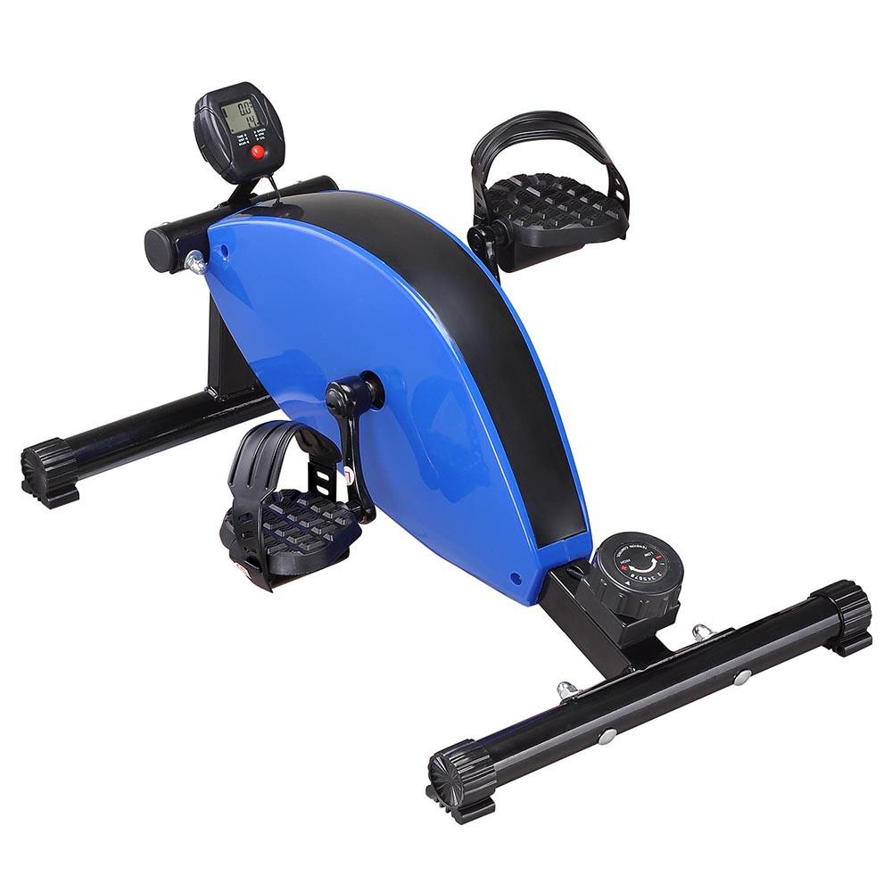 Portable Hand Leg Workout Magnetic Pedal Exerciser Mini Cycle