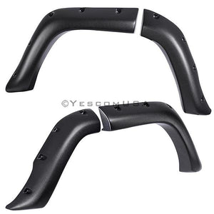 8pcs Fender Flare Dog Leg Pocket Style for Jeep Cherokee XJ 84-01