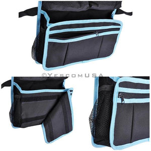 Yescom Car Backseat Storage Bag Organizer w/ Multi-Pocket