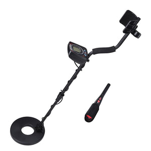 Waterproof 8-3/5' Coil LCD LED Light Metal Detector Pin Pointer Kit