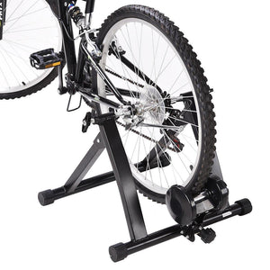 Magnetic Resistance Indoor Exercise Bike Bicycle Trainer Stand