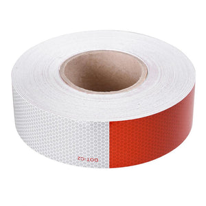 "Yescom 2""x150' Reflective Tape Conspicuity Safety Sticker Roll DOT-C2"