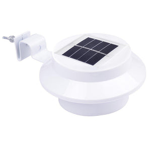 LED Solar Power Outdoor Wall Security Light w/ Bracket