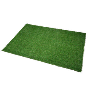Patio 5'x3 3/10' Artificial Turf Fake Grass Carpet Mat Drainage