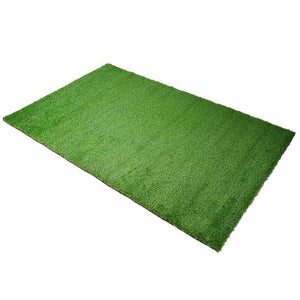 Patio 4'x6 3/5' Artificial Turf Fake Grass Carpet Mat Drainage