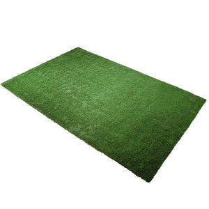 Patio 10'x6 3/5' Artificial Turf Fake Grass Carpet Mat Drainage