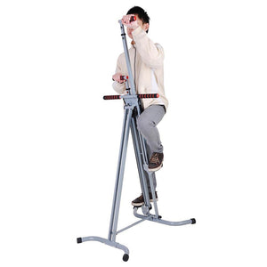 Vertical Climber Folding Stair Stepper Exercise Cardio Machine