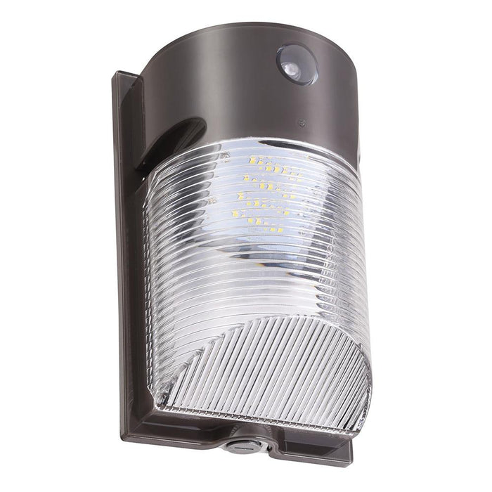 20w 2067lm Outdoor LED Wall Pack Light Dusk-to-Dawn with Photocell