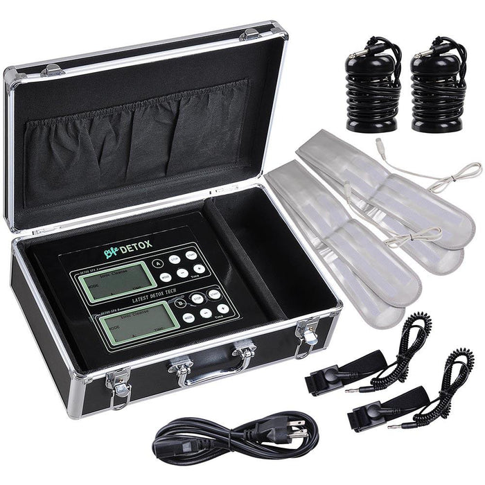 Yescom Ion Detox Foot Spa Machine 5-Mode LCD Dual System Kit