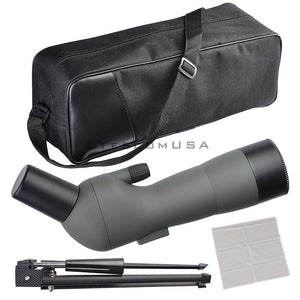 (UK) 20-60x Zoom Spotting 60cm Monocular Telescope Tripod with Bag