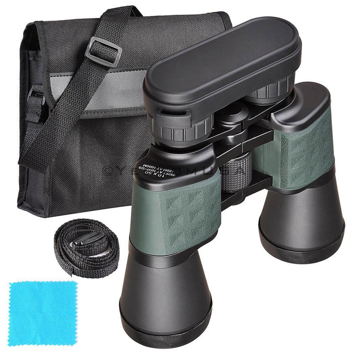 (UK) 10x Binoculars Wide Angle Telescope Outdoor Green
