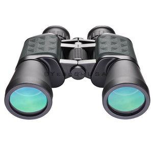 (UK) 10x Zoom Binoculars Wide Angle Telescope Waterproof Outdoor Green