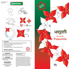 KRI 602, Wreath Poinsettia