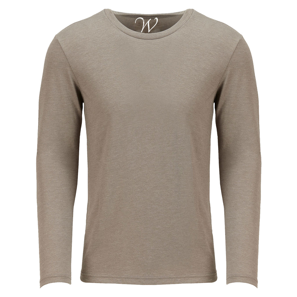 EWC 607S Sand Ultra Soft Sueded Long Sleeve