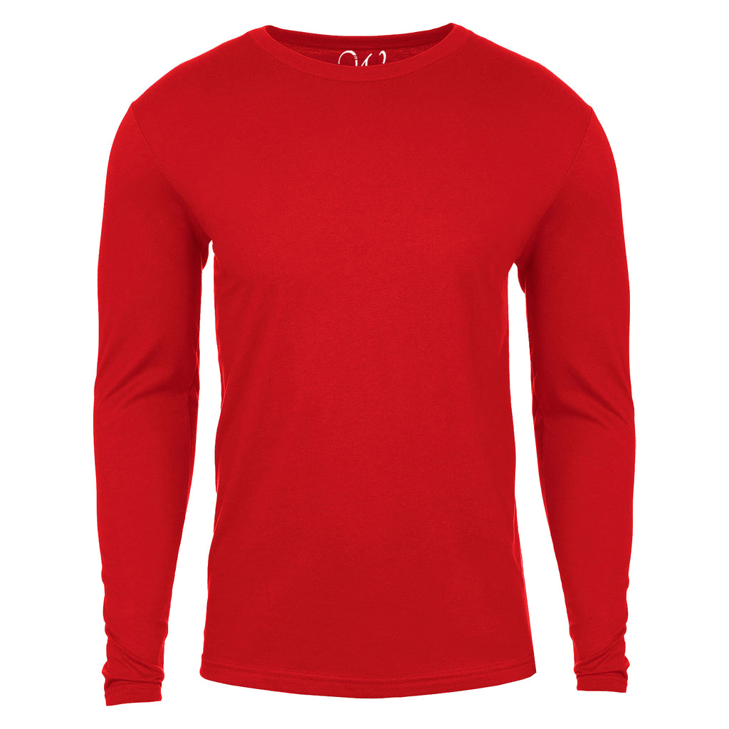 EWC 361R Red Basic Cotton Long Sleeve