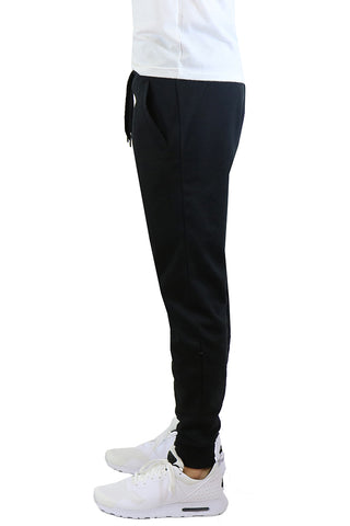 EWC 106JB Black Fleece Joggers