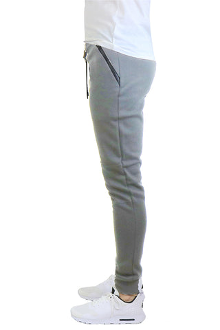 EWC 112JHG Heather Grey Tech Fleece Joggers
