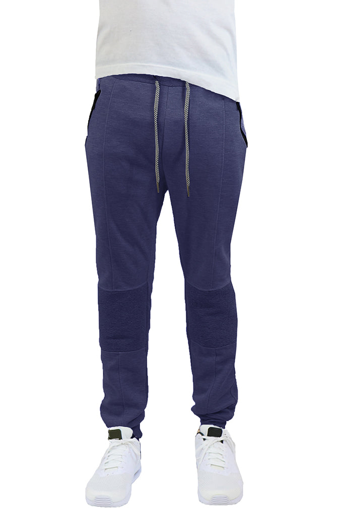 EWC 115JN Navy Tech Fleece Moto Joggers