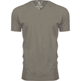 EWC 150WG Stone Ultra Soft Sueded V-Neck T-shirt