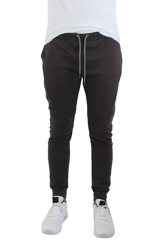EWC 702JB Black Tech Fleece Joggers