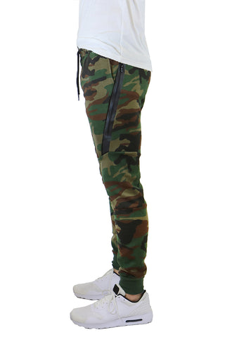 EWC 702JC Camo Tech Fleece Joggers