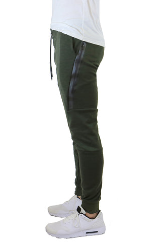 EWC 702JO Olive Tech Fleece Joggers