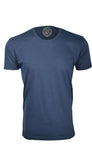 ORG 100N Navy Organic Cotton Crew Neck T-shirt