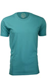 ORG 100T Turquoise Organic Cotton Crew Neck T-shirt