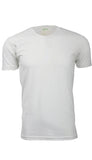 ORG 100W White Organic Cotton Crew Neck T-shirt