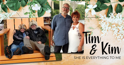 Tim & Kim : She is everything to me, except my wife