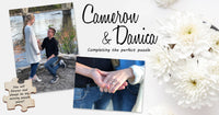 Cameron & Danica : Completing the Perfect Puzzle