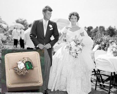 Kennedy engagement ring