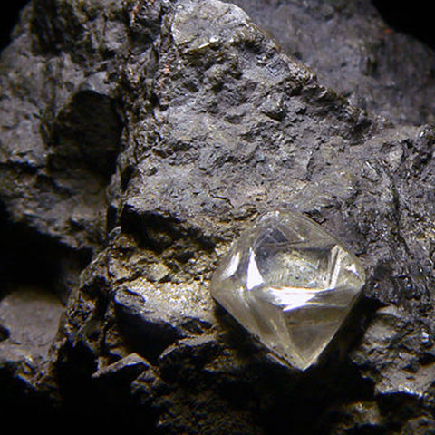 rough diamond mine