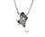 Grey Tourmaline Butterfly Necklace