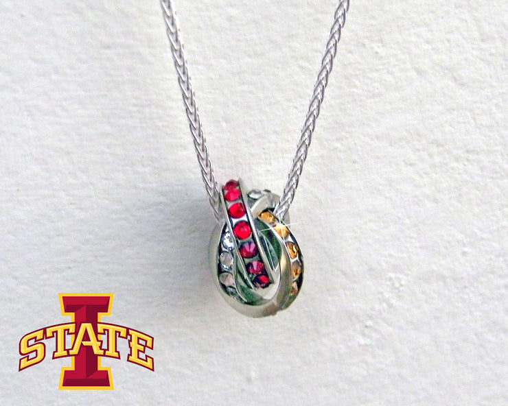 Iowa State Fan Necklace
