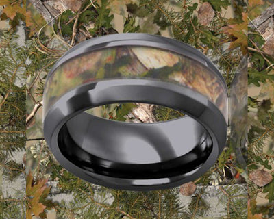 Mixed Pine Camo Ring