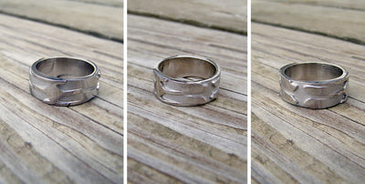 Unique Custom Men's Wedding Ring