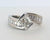 custom bypass princess cut baguette wedding ring redesigned