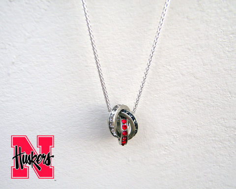 Nebraska Huskers Fan Necklace