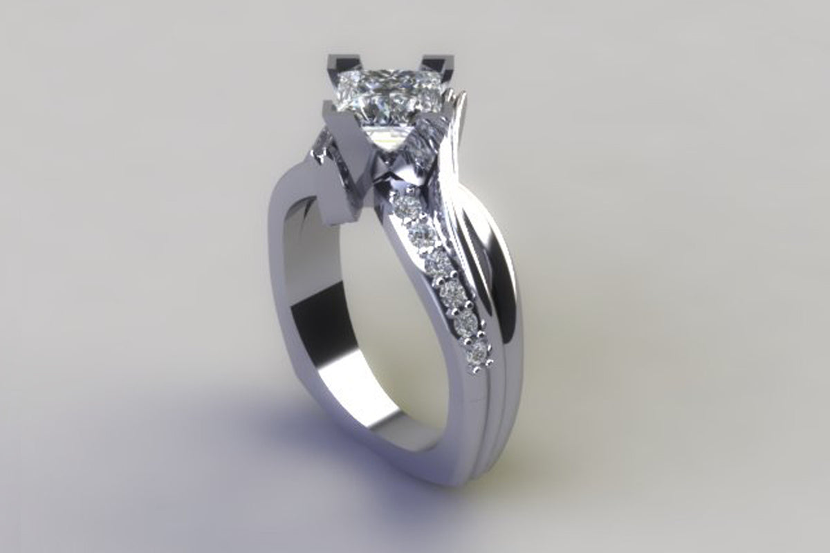 Custom Upgraded Wedding Ring