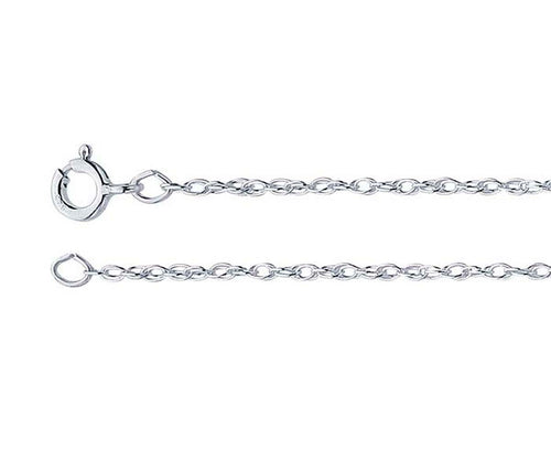 Ambrosia Double Rope Silver Chain Necklace