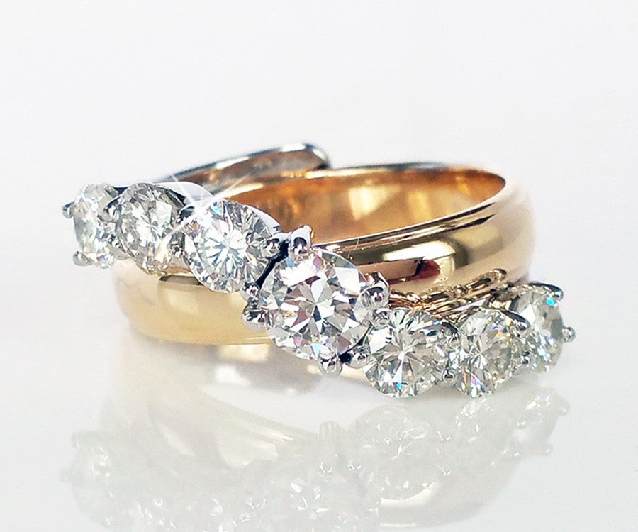 Parents wedding rings redesigned ambrosia for Redesign wedding ring