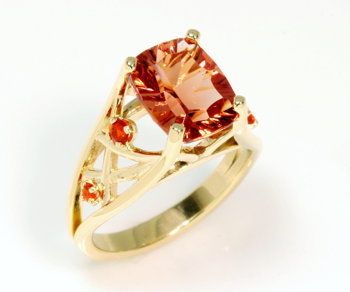 kreisjewellery rings sun kreis ring stone sunstone collections engagement oregon usa