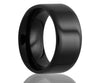Flat Black Ceramic Ring