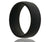 Silicone Rubber Black Ring