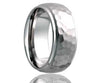 Cobalt Dome Hammer Finish Step Edge Ring