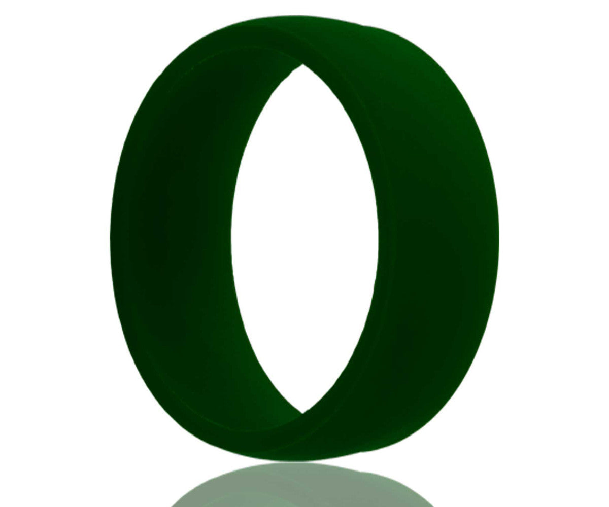 Silicone Rubber Green Ring