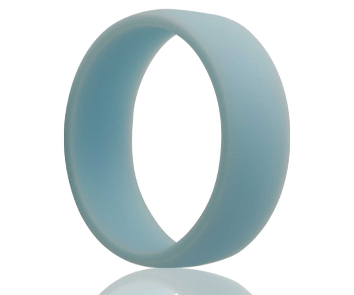 Silicone Rubber Sky Blue Ring