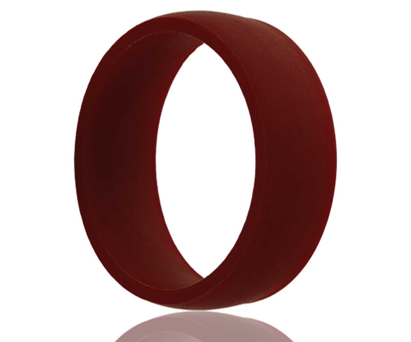 Silicone Rubber Maroon Ring
