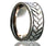 Titanium Flat Tire Track Milled Ring